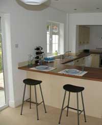 Kitchen after refurbishments